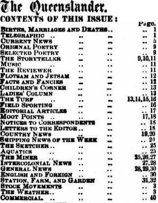 Table of contents, Trove Image
