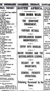 Brisbane Courier, 5 January 1901