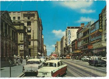 Queen St Brisbane, 1950s